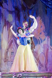 Snow White and Prince Charming Wave Stock Photos