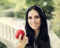 Snow White Stock Photography