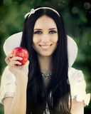 Snow White Stock Photography