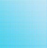 Snow. White snowflakes on a blue background stock illustration