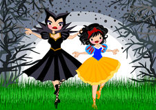 Snow white royalty free illustration