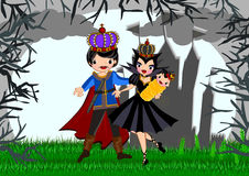 Snow white. Story line illustrations concept. Page 3 vector illustration