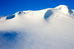 Snow Wilderness Scene Royalty Free Stock Photo