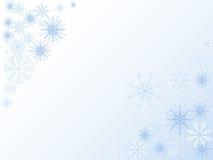 Snow window Stock Photo