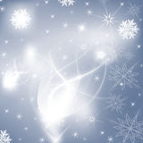 Snow winter background Stock Images