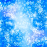 The snow winter background Royalty Free Stock Image