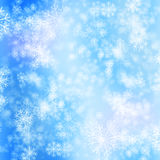 Snow winter background Stock Photo