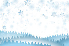 Snow winter background Royalty Free Stock Image