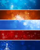 Snow Winter Banners Royalty Free Stock Image