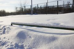 Snow, Winter, Freezing, Roof