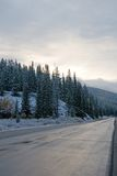 Snow and Winter Landscape Royalty Free Stock Image