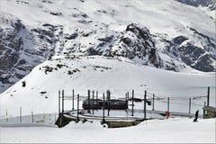 Snow, Winter, Mountain Range, Geological Phenomenon Royalty Free Stock Image