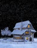 Snow, Winter, Sky, Night royalty free stock photography