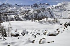 Snow, Winter, Wilderness, Mountainous Landforms Stock Photography