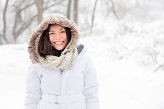 Free Snow Winter Woman Stock Images - 22214384
