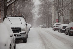 Snow wipers up stock photos