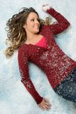 Snow Woman Stock Images