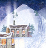 Snow4 Imagens de Stock Royalty Free
