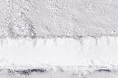 Snowackumulation #2 Fotografering för Bildbyråer