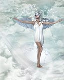 Snowangel 1 Royalty Free Stock Photos