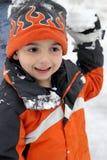 snowball дракой Стоковое Фото