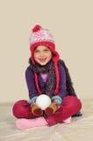 snowball девушки Стоковое Фото