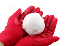 Snowball Royalty Free Stock Image