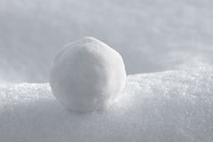 Snowball Image stock