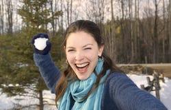 snowball Lizenzfreie Stockbilder