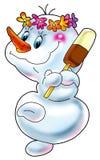 Snowball com gelado. Fotos de Stock