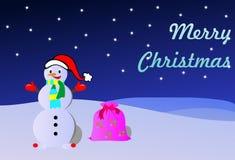 Snowball do Natal ilustração royalty free