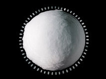 Snowball Ice Globe Close-up Royalty Free Stock Photo
