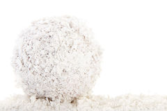 Snowball isolated over white background Stock Images
