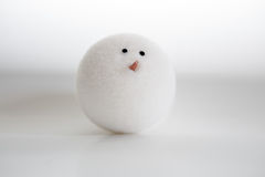 Snowball On White Isolated Background Royalty Free Stock Photo