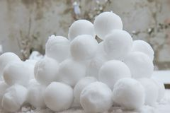 Snowballs Stock Photos