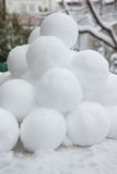 Snowballs Royalty Free Stock Photography