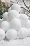 Snowballs Stock Images