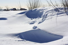 snowbank Στοκ εικόνες με δικαίωμα ελεύθερης χρήσης