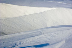 Snowbank Royalty Free Stock Images