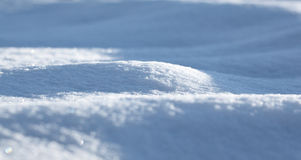 Snowbank Royalty Free Stock Photography