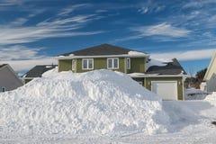 Snowbank Stock Photography