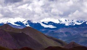 Snowberg Tibet Fotografering för Bildbyråer