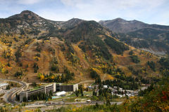 Snowbird Ski and Summer Resort Royalty Free Stock Images