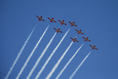 Snowbirds Rising Stock Photo