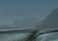 snowblizzard1 Royaltyfri Bild
