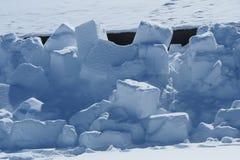 Snowblocks Zdjęcie Stock