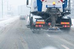 snowblower οδός Στοκ εικόνες με δικαίωμα ελεύθερης χρήσης