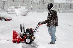 Snowblower Fotografia de Stock