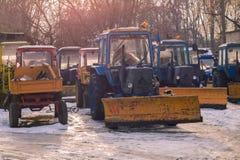 snowblower photos stock