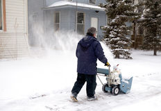 Snowblower Royalty Free Stock Photo